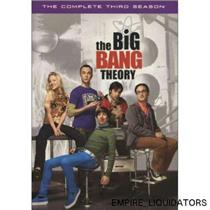 BRAND NEW - The Big Bang Theory The Complete Third Season, 3 Disc, 2010 [DVD]