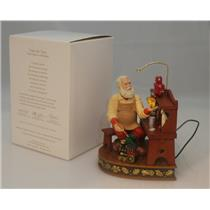 Hallmark Magic Ornament 2012 Once upon a Christmas #2 - Time for Toys #QX8174-DB