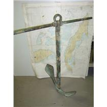 Boaters' Resale Shop of TX 1612 0774.01 BRONZE 50 LB. FISHERMAN ANCHOR & SHACKLE