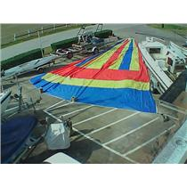 Asymmetrical Spinnaker w 54-8 Luff from Boaters' Resale Shop of TX 1701 2021.91