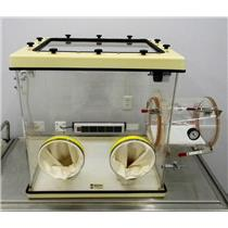 Plas 830 Series Containment Analytical Glove Box Model 830-ABC & Accessories