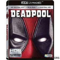 BRAND NEW - 20th Century Fox Deadpool [4K Ultra HD +  Blu-Ray] RATED R