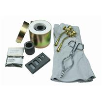 Mini Propane Gas Furnace-4 Cav Mold, Kiln, Flux, Tips, Gloves, Crucibles, Tongs