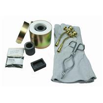 Mini Propane Gas Furnace Kit - Mold, Kiln, Flux, Tips, Gloves, Crucibles, Tongs