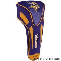 BRAND NEW - Team Golf Minnesota Vikings Single Apex Driver Head Cover