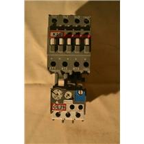 ABB A30-30-10 Contactor, 220-240V Coil, ABB TA25 24-32A Overload Relay