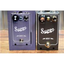 Supro USA 1303 Boost 20db J-Fet Design Guitar Bass Effects Pedal