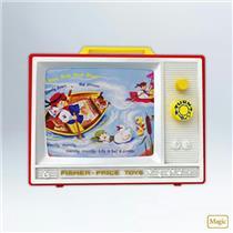 Hallmark Magic Keepsake Ornament 2012 Two Tune TV - Fisher Price - #QXI2671