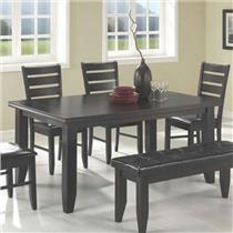 Pallet Shipping - Coaster Company Dalila Dining Table - Cappuccino Model 102721