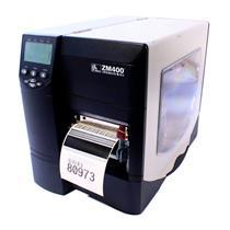 Zebra ZM400 ZM400-3001-4100T Thermal Barcode Printer Network USB Peel Rewind