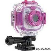 BRAND NEW - VTech KidiZoom Action Cam 0.3 MP Action Camera - Purple Ages 4+