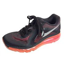 6.5 Nike AirMax 2014 Neutral Ride Shoe in Dark Violet Ore/Reflect Silver/Hyper