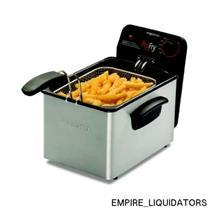 SEALED - Presto 1800w Stainless steel 120v ProFry Deep Fryer model 05461