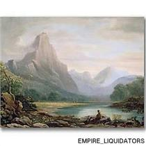 "NICE - Trademark Fine Art 32"" X 24"" John Varley 'A Welsh Valley' Canvas Art"