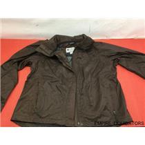 Columbia Women's XL Titanium Rain Jacket in Brown ( No Tags ) - Omni-Tech