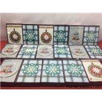 17 Assorted Trimming Traditions Boxes 8ct Gate Fold Christmas Cards (136 Total)