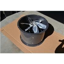 "Dayton 24"" Tubeaxial Fan, Motor HP 1, Voltage 200 to 230/460, 3 Phase, 4TM85"