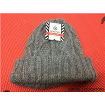 Women's isotoner Casual Gray Knit Hat w/ Tags
