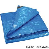 Unused Stansport Wood Cover tarp-heavy Weight-10' x 16' Model  t-1016-35 (Blue)