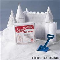 SEALED - Sandtastik White Sandbox Sand-25 lbs. - PLA25LBBOX