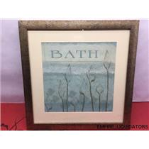 """18"""" x 18"""" Grace M. Pullen Bath Picture with Frame"""