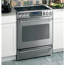 GE Cafe Series CS980SNSS 30 Inch Freestanding Electric Range Stainless