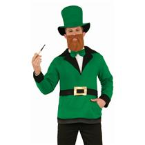 Forum Novelties Adult Leprechaun Pullover Hat Bow Tie Costume Accessory Set