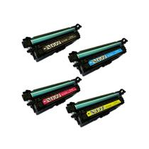 Laserjet Toner Set 4 Color Pack Compatible High Yield - HP ENT500/507X/CE403A
