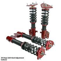 20Step Coilover Shock Strut Suspension For Subaru Impreza STI GDB 05-07 PCD114.3