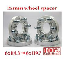 (4) Wheel Spacers Adapter Spacer 6x114.3 To 6x139.7 25mm Navara D40 Xterra