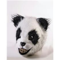 Scary Panda Latex Adult Animal Mask
