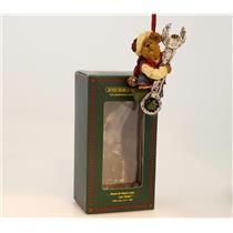 Boyds Bears Bearstone Ornament 2002 Turner Elfbeary - #25769