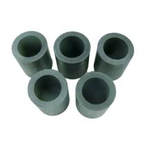 Lot of 5 Graphite 10 oz Crucibles for  Mini Fast Furnace - Melting Gold-Silver-
