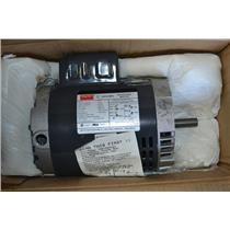 Dayton 1/2 HP Motor, Capacitor-Start, 1725 RPM, 115/208-230V, Frame 56C, 5K340BE