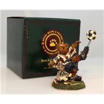 Boyds Bears Bearstone Figurine 1998 Rocky Bruin...Score Score Score  #228307-SDB