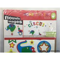 SEALED / NEW - Home Host 223 Circus Decorative Wall Stickers UNUSED  -A