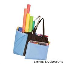 NEW - Educational Insights Teacher Tote-All Store-More Apron In Black/Blue -A