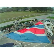 Asymmetrical Spinnaker w 55-0 Luff from Boaters' Resale Shop of TX 1702 1727.98