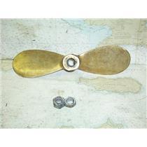 "Boaters' Resale Shop of TX 1701 2041.01 BRONZE 2 BLADE 15RH12 PROP FOR 1"" SHAFT"