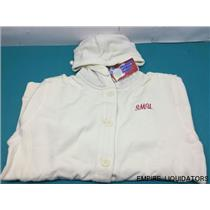 New Ouray Sportswear - Collegiate SMU Women's XL Chunky Cable Hoodie w/ tags -A
