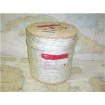 """Boaters' Resale Shop of TX 1703 0127.01 CWC 600' OF 3/8"""" POLYESTER DOUBLE BRAID"""