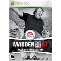 SEALED - Madden NFL 07 Hall of Fame Edition [Xbox 360 Game] -A