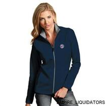 Antigua MLB Minnesota Twins Women's Leader Jacket in Navy / Silver w/ Tags -A