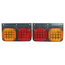 1 Pair 24V LED Tail Light Lamp For HINO Ranger Truck FUSO FV FK FM Fighter