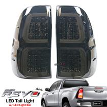 12V LED Light Bar Rear Tail Light Lamp For Toyota Hilux REVO M70 M80 2015-ON