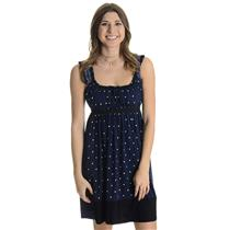 Size 2 Authentic Philosophy by Alberta Ferretti Navy Empire Waist Ruffle Dress