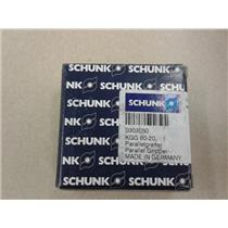Schunk 0303050 KGG 60-20 Parallel Pneumantic Gripper 2Finger