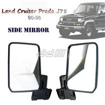 Toyota Land Cruiser Prado J78 LC2 EX5 90-96 Manual Adjustment Side Mirror 1 Pair