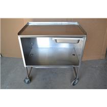 3'x2' Stainless Steel Food Prep Cart