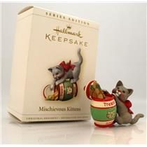 Hallmark Series Ornament 2006 Mischievous Kittens #8 Kitty in the Jar QX2483-SDB